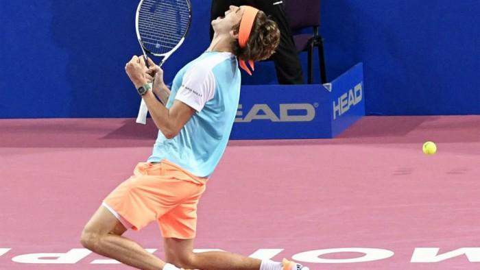 Zverev campeona en Montpellier