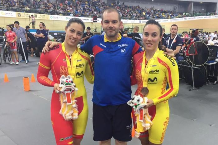 Tania Calvo y Helena Casas ganan el bronce en la Copa del Mundo