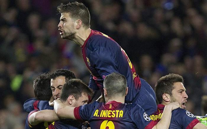 Remontadas del Barça en Champions