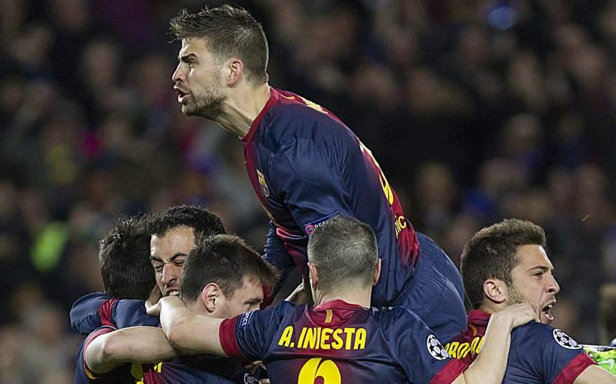 El Barça ya sabe lo que es remontar en Champions