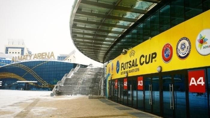 El Almaty Arena será la sede de la UEFA Futsal Cup 2017