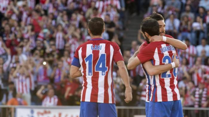 El Atlético de Madrid se acerca a la tercera plaza tras ganarle al Sevilla