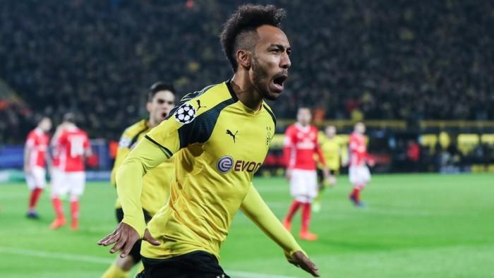 Un hattrick de Aubameyang mete al Borussia Dortmund en cuartos