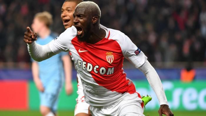 Bakayako marcó el gol del Mónaco que valió para eliminar al Manchester City