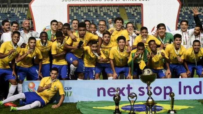 Brasil ganó el Sudamericano sub 17 de 2017