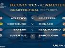 Champions League 2016-2017: Atlético-Leicester, Bayern-Madrid y Barça-Juve en cuartos