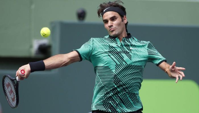 Federer va ante Bautista en Miami