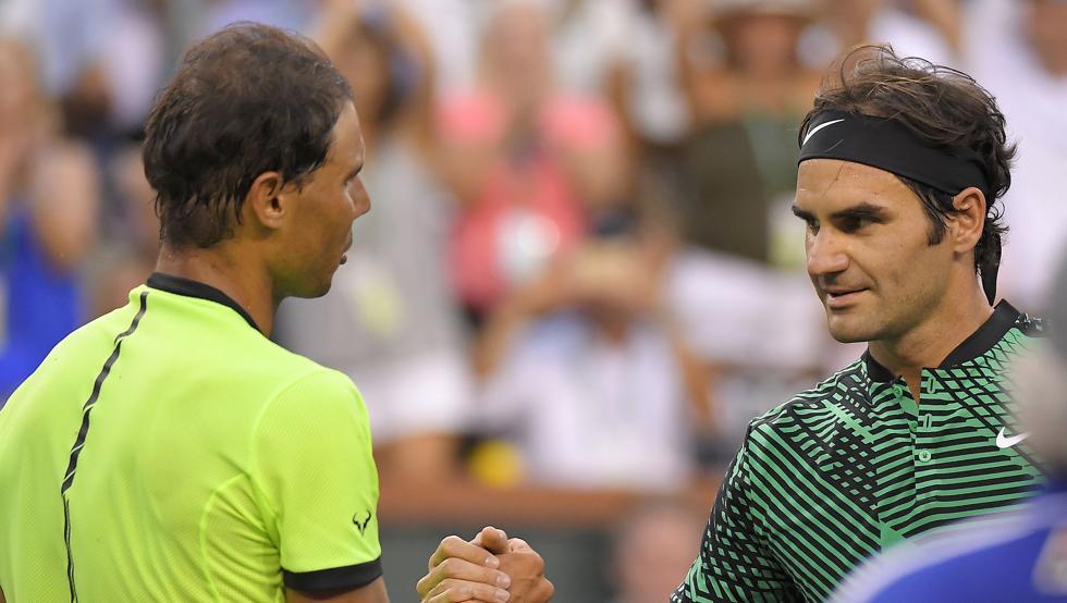 Masters 1000 Indian Wells 2017: Federer gana con autoridad a Rafa Nadal, caen Djokovic y Muguruza