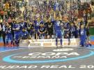 Inter Movistar revalida título en la Copa de España de fútbol sala 2017