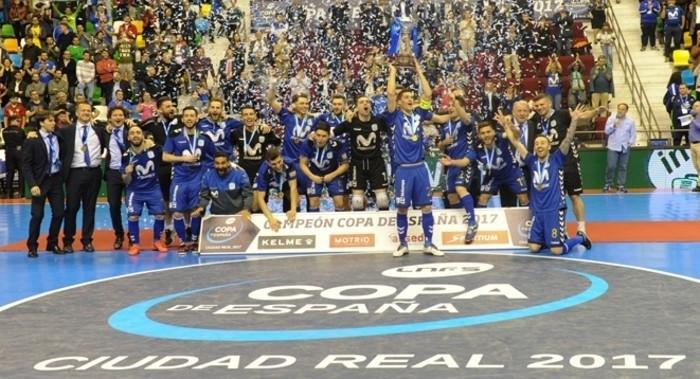 Inter Movistar ganó la Copa de España 2017 de fútbol sala