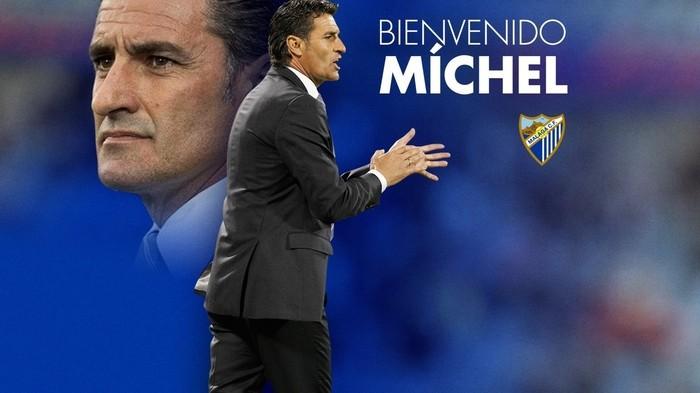 Míchel es el tercer técnico del Málaga en esta temporada