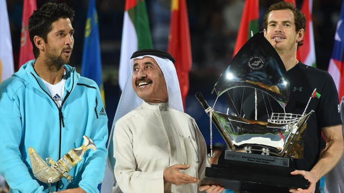Murray vence a Verdasco en Dubai
