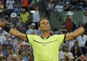 Masters 1000 Miami 2017: Rafa Nadal y Federer a cuartos de final