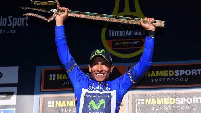 Nairo Quintana gana por segunda vez la Tirreno Adriatico