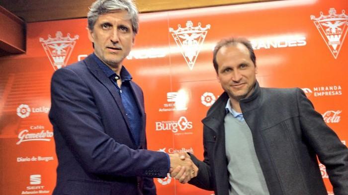 Pablo Alfaro será el cuarto entrenador del Mirandés en esta temporada
