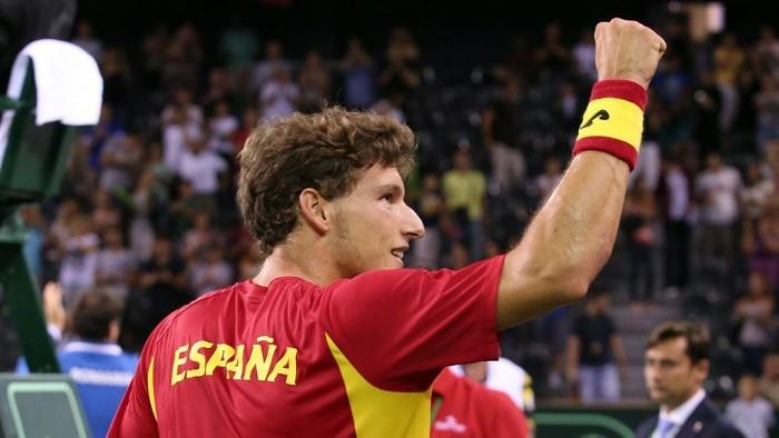 Pablo Carreño será el número uno de España ante Serbia
