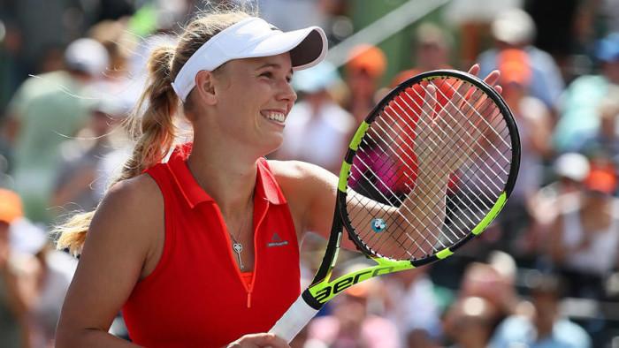 Wozniacki a la final en Miami