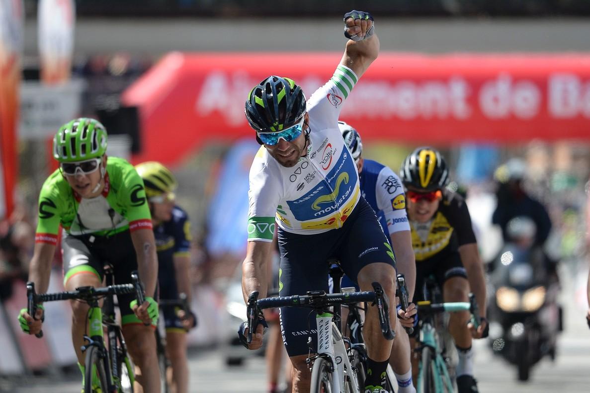 Alejandro Valverde conquista la Volta Catalunya