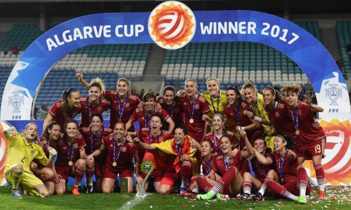España conquista la Copa Algarve