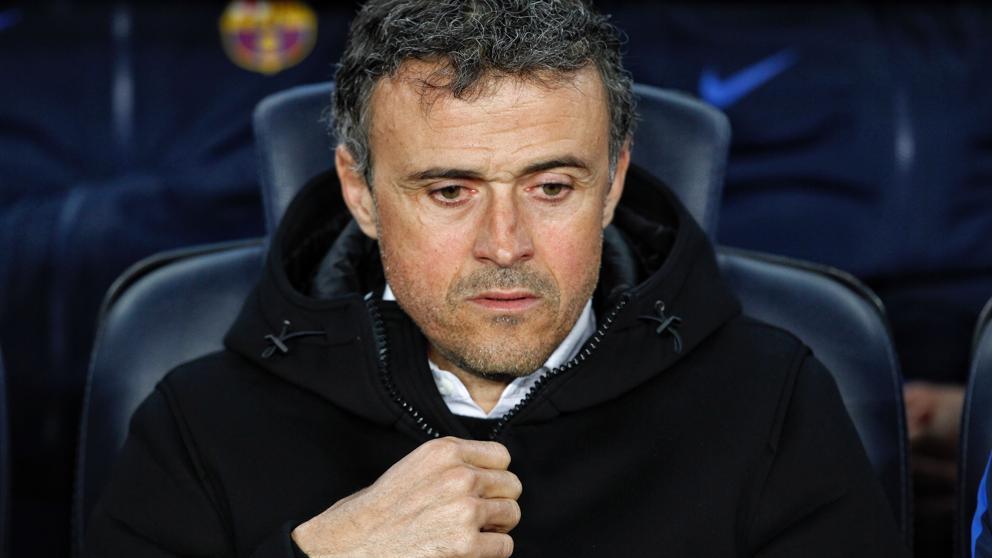 Luis Enrique anuncia su adiós al banquillo del Barça