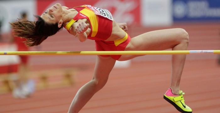 Ruth Beitia ganó una plata en los Europeos de pista cubierta de 2017