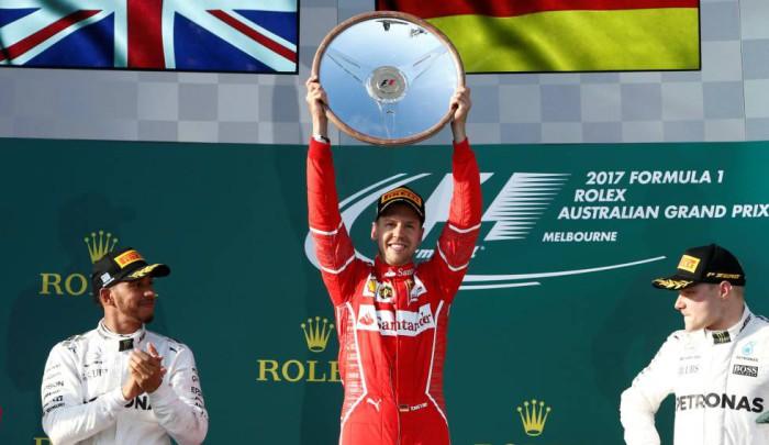 Vettel y Alonso: la cara y cruz en Australia