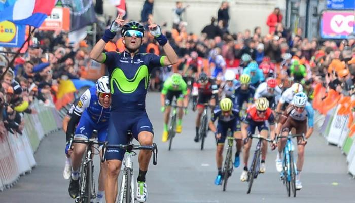 Valverde gana la Lieja - Bastoña - Lieja 2017