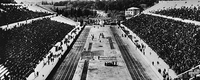 Jornada de los I Juegos Olímpicos modernos