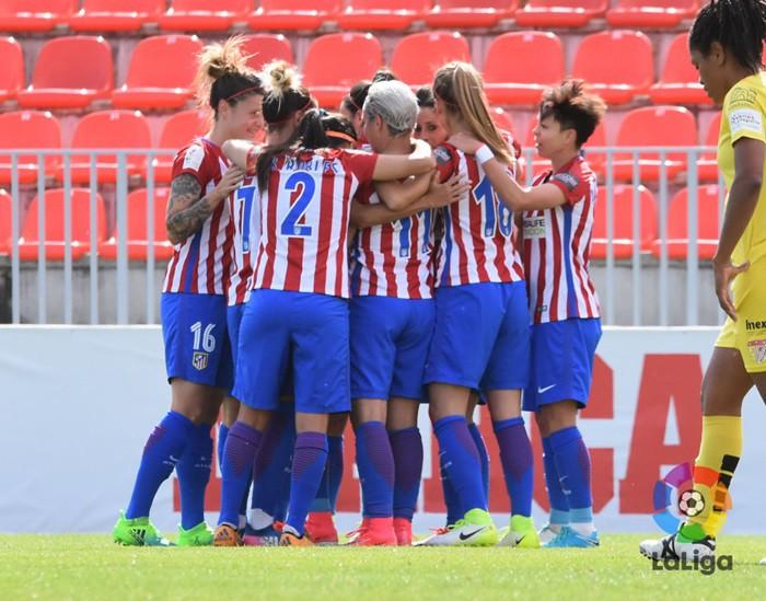 El Atlético goleó al Santa Teresa