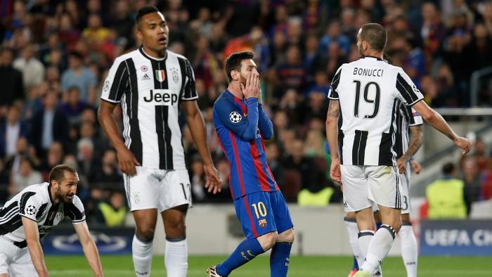 El Barcelona cae eliminado ante la Juventus
