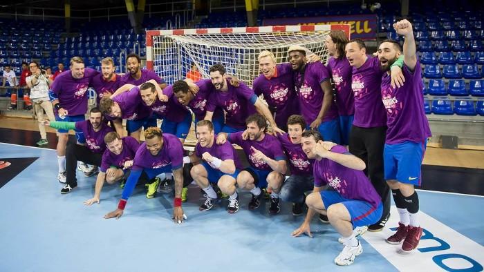 El Barcelona ganó de nuevo la liga ASOBAL de balonmano