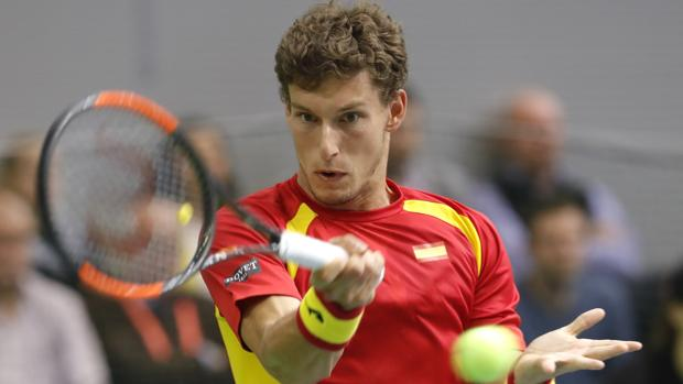 Carreno cae ante Troicki en Copa Davis