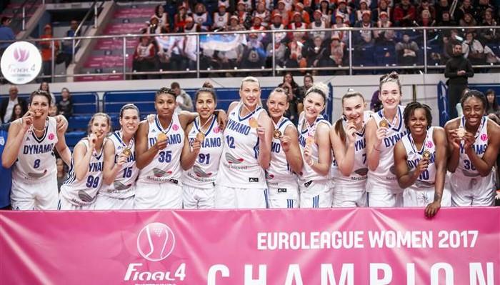 El Dynamo Kursk es el nuevo campeón de la Euroliga femenina