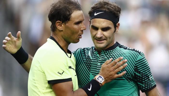 Federer vence a Rafa Nadal y campeona en Miami