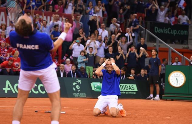 Francia bate a Reino Unido y va a semifinales de Copa Davis