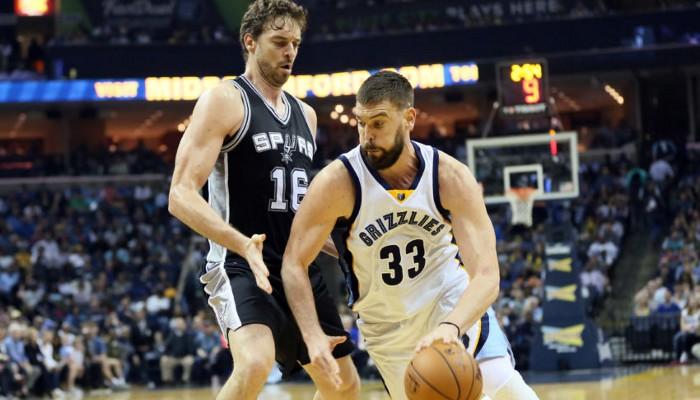 Duelo entre los hermanos Gasol en los NBA Playoffs 2017