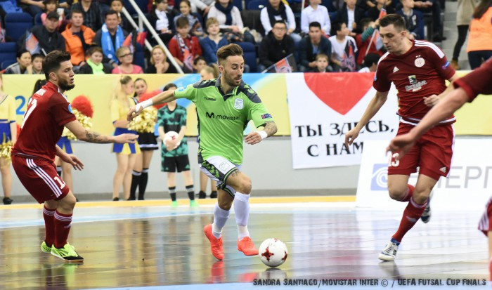 Movistar Inter consigue el pase a la final de la UEFA Futsal Cup