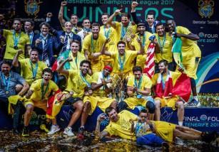 Iberostar Tenerife gana la primera edición de la Champions League de la FIBA
