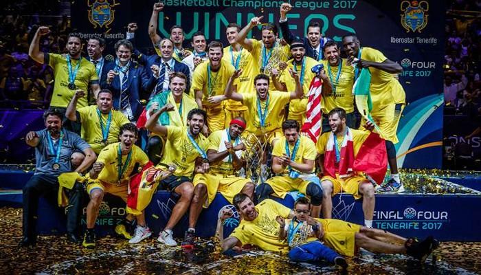 Ibertostar Tenerife, campeón de la primera Champions League de la FIBA