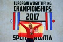 Lydia Valentín, tricampeona de Europa