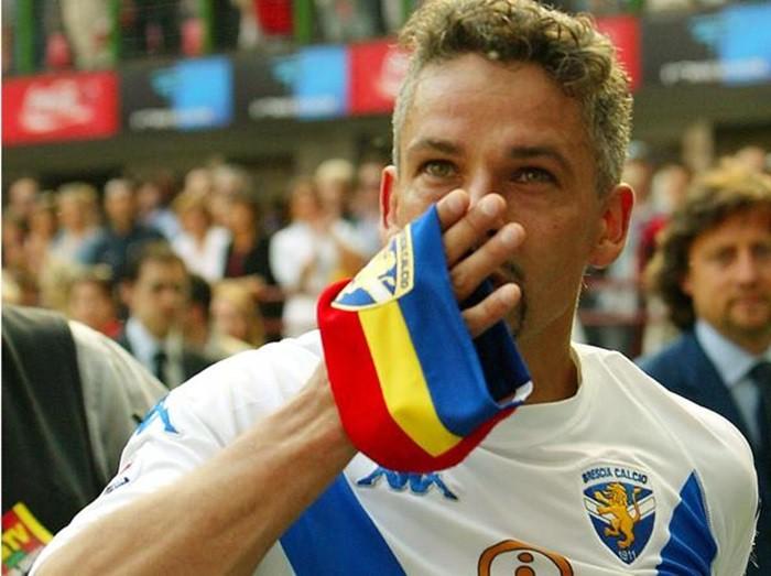 Tal día como hoy… Colgaba las botas Roberto Baggio