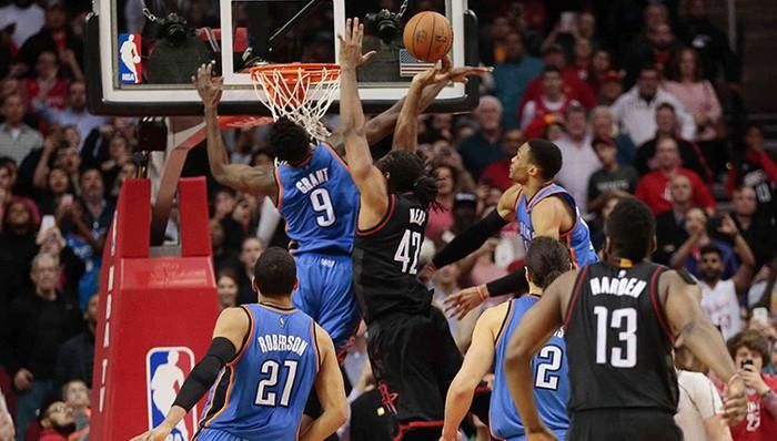 Rockets-Thunder, duelo en los playoffs en el Oeste