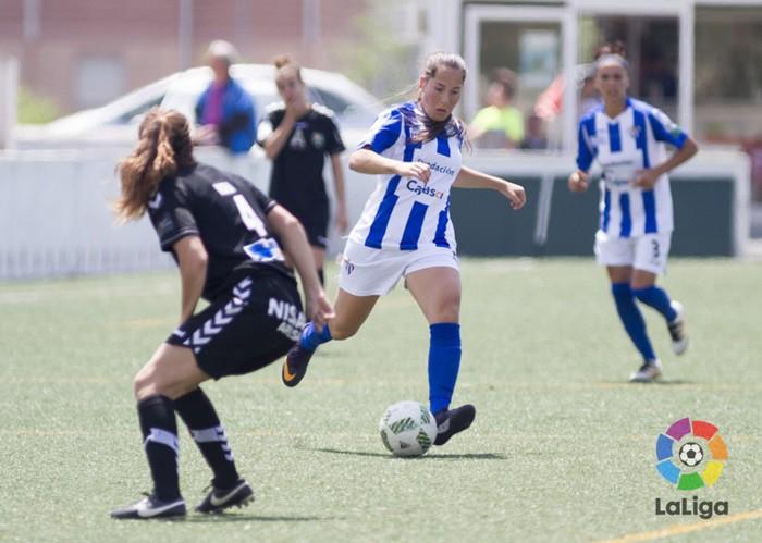Victoria del Sporting de Huelva ante el Zaragoza