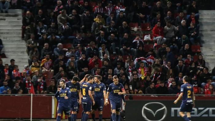 El UCAM Murcia dio la sorpresa al ganar en Girona en la Jornada 35