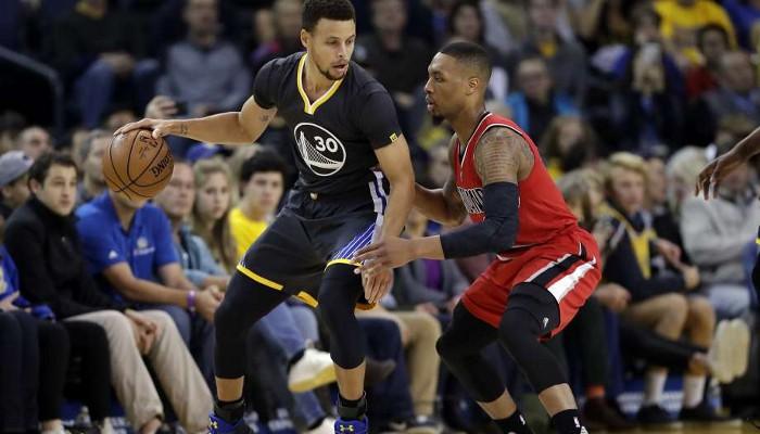 Los Warriors jugarán ante los Blazers en la primera ronda