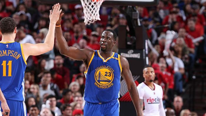 Los Warriors pasan a la segunda ronda de los NBA Playoffs 2017
