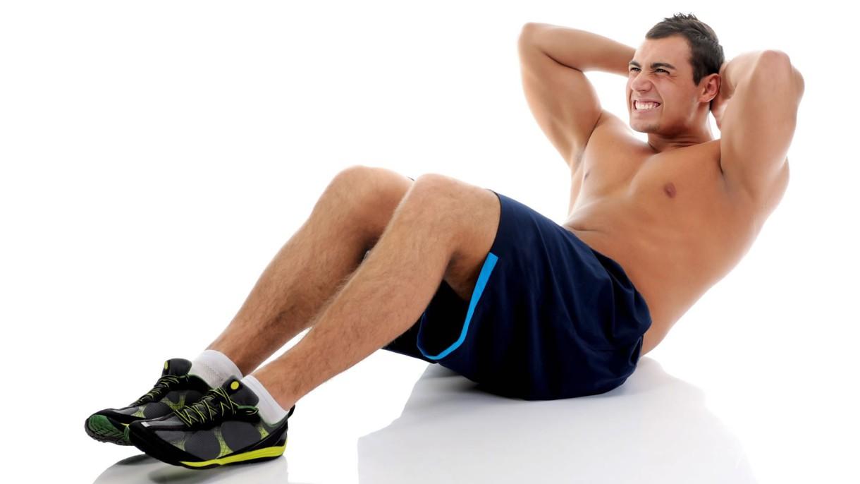 Ejercicios para hacer abdominales sin necesidad de objetos