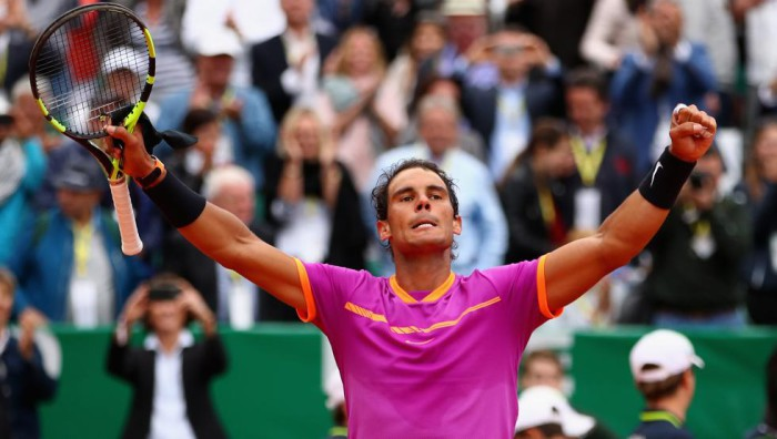 Nadal se clasifica para semifinales en Montecarlo 2017