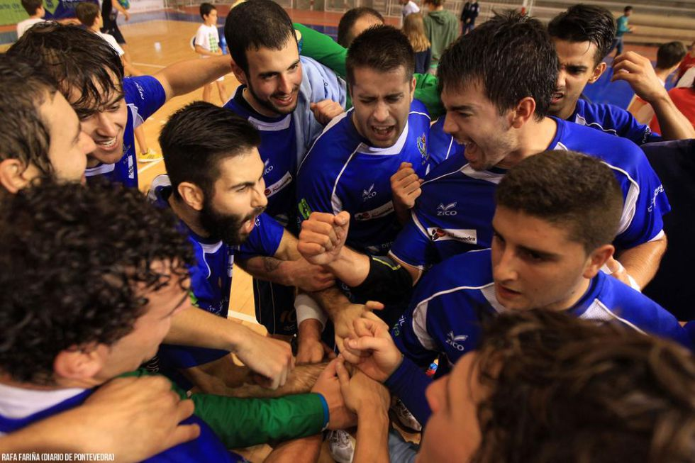 La SD Teucro consigue el ascenso a la Liga Asobal