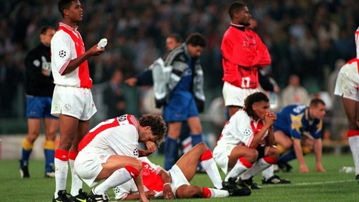 El Ajax cayó en la final de 1996 en los penaltis